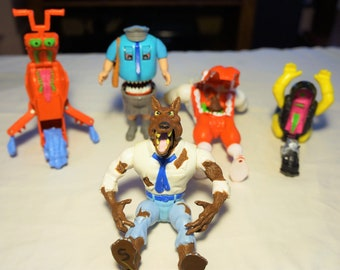 Real Ghostbusters Haunted Humans, Haunted Vehicles, and Monsters, Your Choice