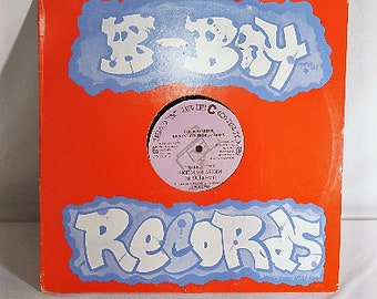 Early B-Boy Records L.P. 1987 Kickin Live Productions, I Got Rythmn by Akiem the Rhythm Maker/The Brothers by  Akiem and Narkim, DJ Supreme
