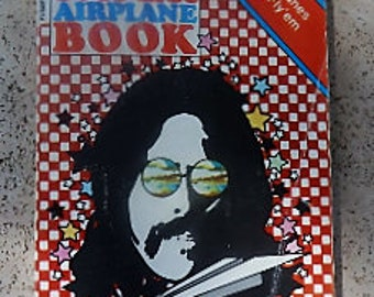 1971 Peter Max Paper Airplane Book, Very Good Condition, Never Used