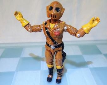 1987 G.I. Joe COBRA Worms Figure With Helmet, Maggot Driver, ARAH