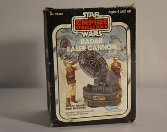 1982 Kenner Star Wars Empire Strikes Back Laser Cannon Radar SEALED!