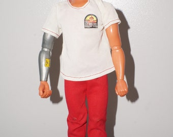Kenner Six Million Dollar Man, Colonel Steve Austin, Bionic Man V. 3 With Bionic Grip