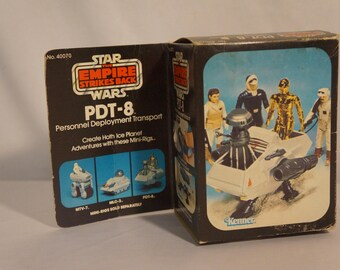 1981 Kenner Star Wars ESB PDT-8 mini rig with box and instructions!