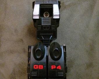 Bandai Japan 1985 GoBots Black Power Suit GB P4