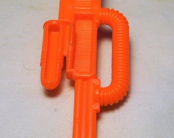 1991 GI Joe ARAH COBRA Ice Sabre part, front machine gun, Hasbro A Real American Hero