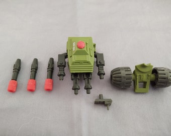 1983 Hasbro GI Joe Machine Gun PAC/RAT Parts, Arah