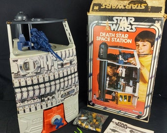 1978 Kenner Death Star Playset Complete In Box With Instructions, Original Trash, Original Dianoga and Original Rope!