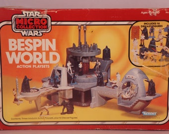 Rare 1982 Kenner Bespin World Star Wars Micro Collection NIB