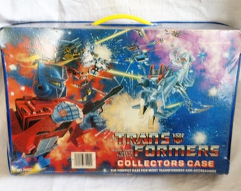 Transformers 1984 G1 Collectors Case Tara Toy Corp Hasbro No. 75100 More Than Meets the Eye