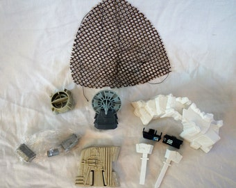 Kenner Star Wars Vehicle and Playset Parts Ewok Net Slave 1 Dagobah Hoth Laser Cannon Y Wing Imperial Attack Base