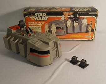 1979 Star Wars Palitoy Imperial Troop Transporter, bi-lingual French, very clean in nice box!!!