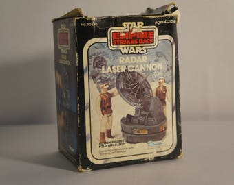 1982 Kenner Star Wars Empire Strikes Back Laser Cannon Radar complete IOB