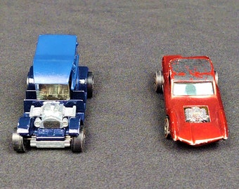 Vintage (NOT REISSUE) Redline Hot Wheels 1968 Sweet Sixteen Hong Kong Python, Red, or 1970 U.S. Paddy Wagon, Your Choice
