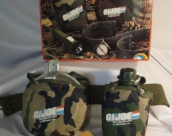 1988 Hasbro GI Joe 8pc real Camping set, RARE