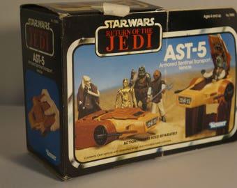 1983 Kenner Star Wars Return Of The Jedi AST-5 mini rig IOB