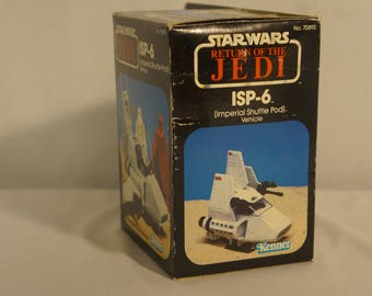 Kenner Star Wars Return of the Jedi 1983 ISP-6 mini rig MIB, Imperial Shuttle Pod Vehicle