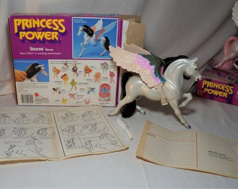 VINTAGE 1984 Mattel She-Ra Princess Of Power Storm W/Box and Papers MOTU