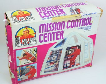 Kenner 6 Million Dollar Man Mission Control Center Playset Complete In Box, Colonel Steve Austin, Bionic Man