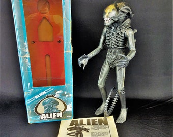 Vintage 1979 Kenner Alien Xenomorph Big Chap, Complete in Box W/Original Insert, Poster, Dome, Jaws, Excellent, Rare French Canadian Version
