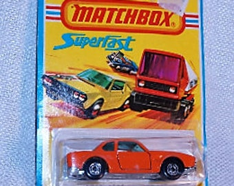 1976 Matchbox Superfast #45 BMW 3.0 CSL MOC Made in England