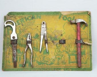 Jaymar Specialty Co American Boy Toy Tool Set