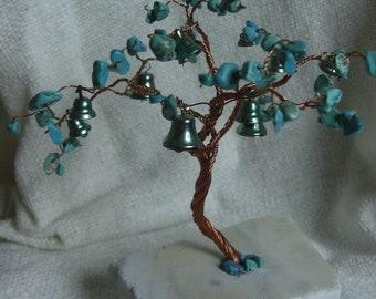 Copper Wire Tree - Prosper Tree - Turquioze Gemstones