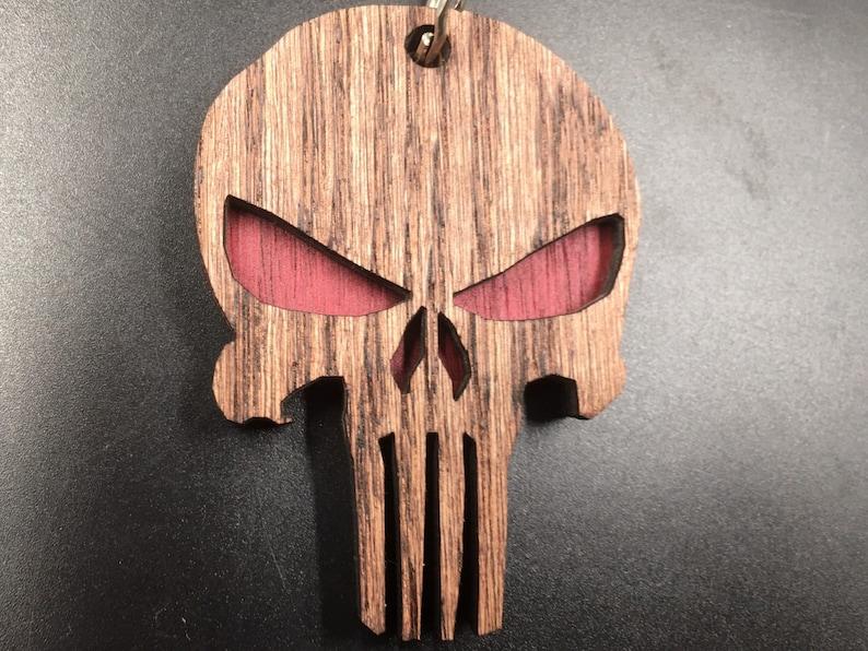 Punisher key chain