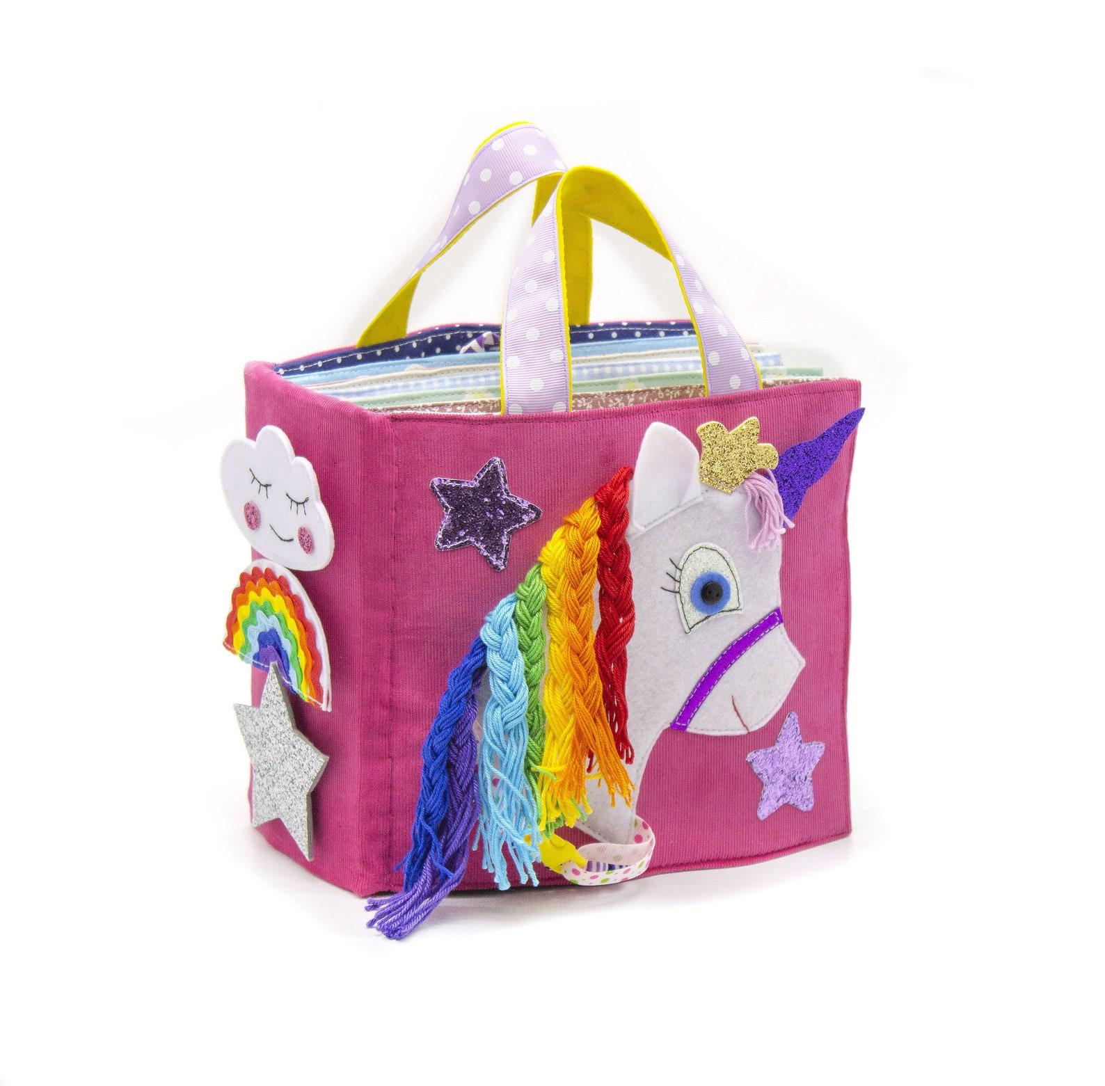 Rainbow Pony Unicorn' Activity Quiet Book