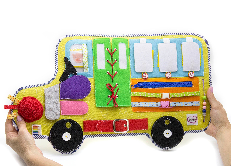 Busy Brett Montessori sensorische Spielzeug Aktivität Baby