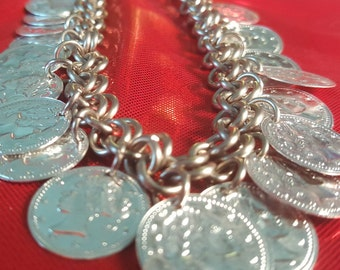 Belly Dancer Coin Anklet