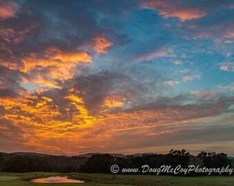 September Sunrise at Burnside Island State Park #9841