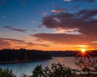 September Sunset at Lake Cumberland Ky
