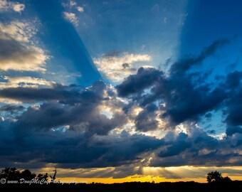 Sunset over Lake Cumberland Area #9723