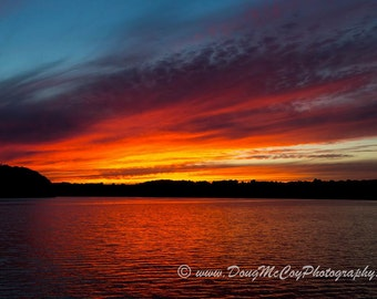 Sunset at Lake Cumberland Ky #9038