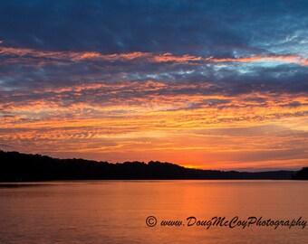 Sunset at Lake Cumberland Ky #5241