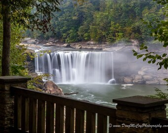 Early Morning at Cumberland Falls State Park. #0067