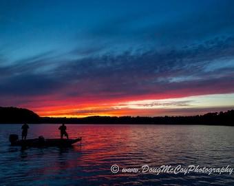 Sunset at Lake Cumberland Ky #9045