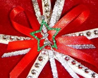 Fairy Ornament. Fairy Starfish Ornament. Starfish Christmas Ornament. Fairy Starfish Christmas Ornament. Sea Star Ornament.