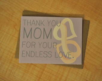 Mother's Day Card - Endless Love
