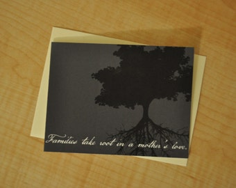 Mother's Day Card - Families Take Root In A Mother's Love