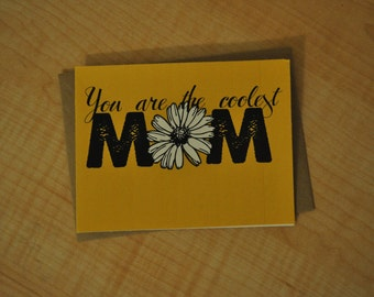 Mother's Day Card - The Coolest Mom