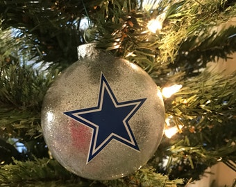 dallas cowboys christmas ornament