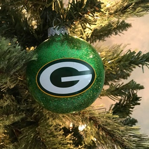 green bay packers christmas ornament - Green Bay Packers Christmas Ornaments