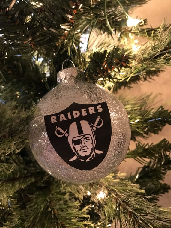 Oakland Raiders Christmas Ornament Las Vegas Raiders | Etsy