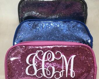 SALE** Personalized Glitter Pouch