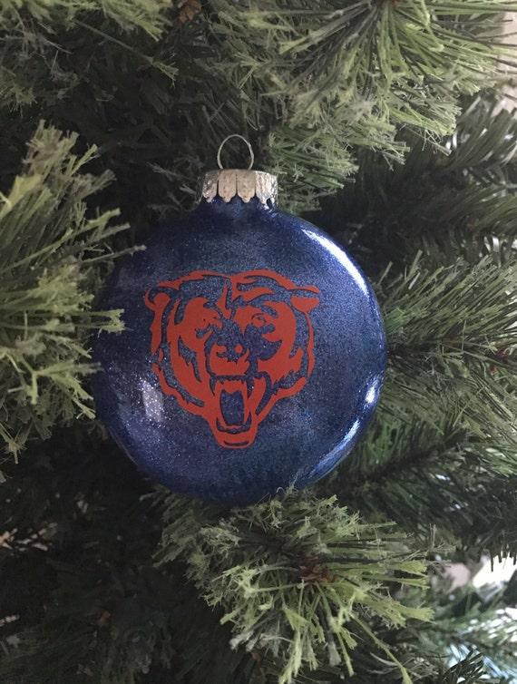Chicago Bears Christmas Ornament - Chicago Bears Christmas Ornament Etsy