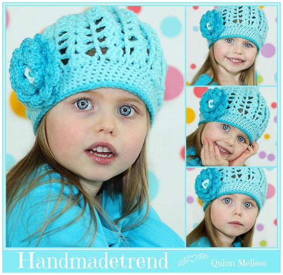 Bambino ragazza cappello berretto all uncinetto Etsy  1b9f78875552