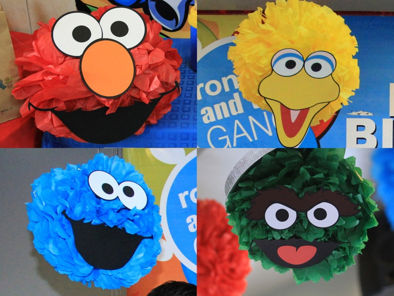 photograph about Printable Cookie Monster Face identify Sesame Road Birthday Celebration Decoration 12 Printable Do it yourself Cutout Experience Templates for pompoms or balloons! Elmo Cookie Monster Large Hen