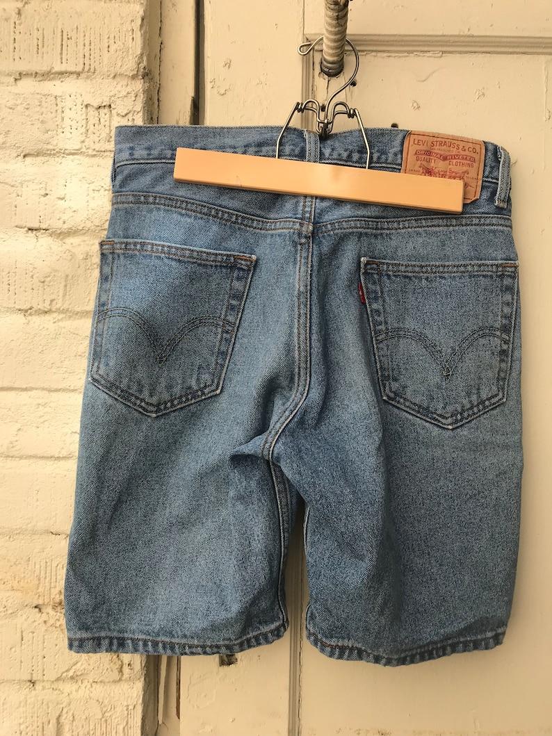 b3a83227 Vintage Levis Shorts. Denim Shorts. Mens. Small. Medium. | Etsy
