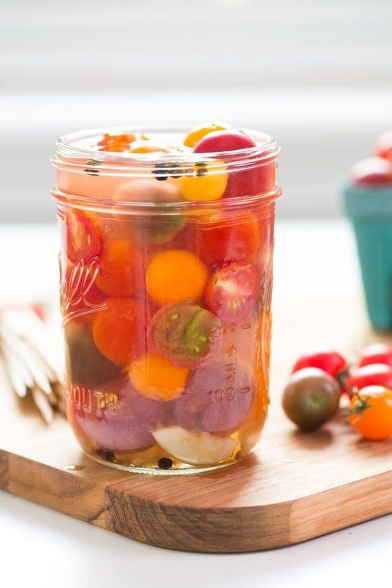 Pickled Cherry Tomatoes 16oz - TheSunshineJellyCo